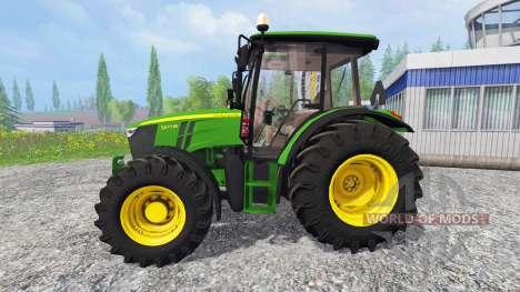 John Deere 5075M pour Farming Simulator 2015