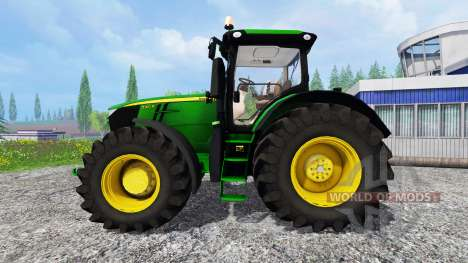 John Deere 7310R [wheel shader] v2.0 pour Farming Simulator 2015