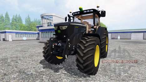 John Deere 6210R [black edition] für Farming Simulator 2015