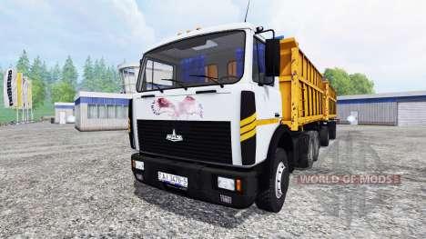 MAZ-5516 pour Farming Simulator 2015