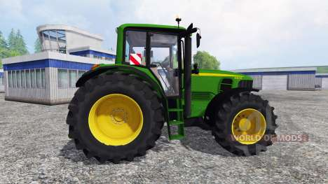 John Deere 6830 Premium [washable] pour Farming Simulator 2015