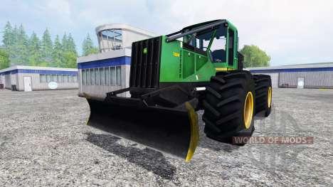 John Deere 748H v1.1 pour Farming Simulator 2015