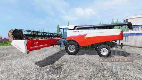 Torum-760 v2.0 pour Farming Simulator 2015