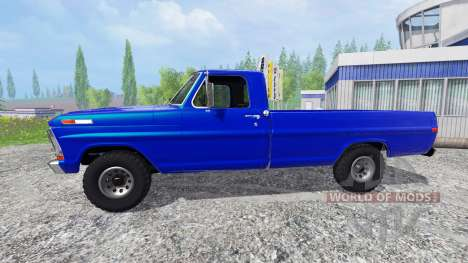 Ford F-100 1970 pour Farming Simulator 2015