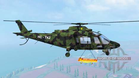 Agusta A.109 [camo] für Farming Simulator 2015