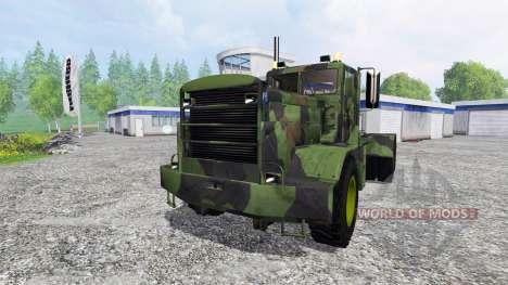 Hayes HDX [camo] für Farming Simulator 2015