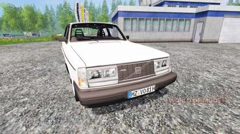 Volvo 242 Turbo v1.01 für Farming Simulator 2015
