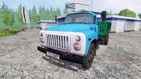 GAZ-53 pour Farming Simulator 2015