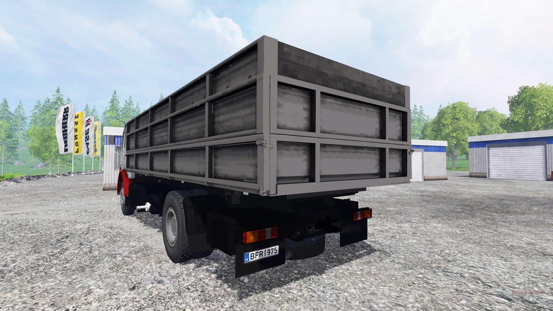 mercedes benz ng 1632 f r farming simulator 2015. Black Bedroom Furniture Sets. Home Design Ideas