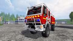 Renault Midlum Crew Cab 4x4 2009 [firetruck]