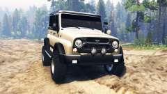 UAZ-315195 hunter für Spin Tires