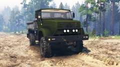 ZIL-4327 [militaire] pour Spin Tires