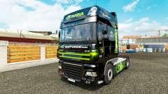 Haut Nvidia für Traktor DAF XF 105.510 für Euro Truck Simulator 2