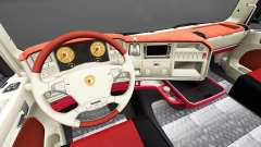 L'intérieur du FC Augsbourg, pour Scania pour Euro Truck Simulator 2