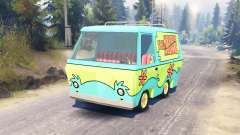 The Mystery Machine [Scooby-Doo] pour Spin Tires