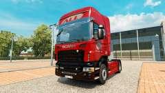 Das America Latina Logistica skin für Scania-LKW für Euro Truck Simulator 2