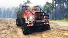 KrAZ-255 UdSSR für Spin Tires