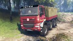 Tatra Phoenix T 158 8x8 v6.0 pour Spin Tires