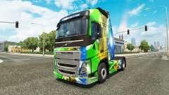 Brasil 2014-skin v3.0 für Volvo-LKW für Euro Truck Simulator 2