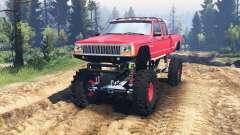 Jeep Grand Cherokee Comanche 4x4 v2.0 für Spin Tires