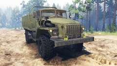 Ural-43206-41 für Spin Tires