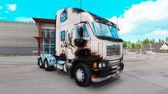Скин Überarbeitet Dalmatin на Freightliner Argosy für American Truck Simulator