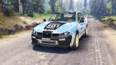 Subaru Impreza WRX 2007 pour Spin Tires