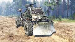 GAZ-3302 [Metro 2033] für Spin Tires