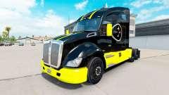 Pittsburgh Steelers Haut für die Kenworth-Zugmaschine für American Truck Simulator