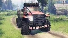 Ural-4320 Explorateur Polaire v12.0 pour Spin Tires