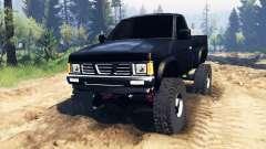 Nissan Hardbody Standard Cab (D21) 1993 v2.0 pour Spin Tires