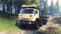 KamAZ-63501-996 Mustang v3.0 pour Spin Tires