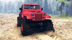 Jeep Wrangler (YJ) pour Spin Tires