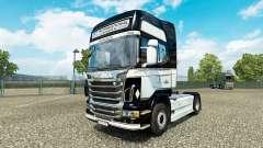 JKT Internationale de la peau pour Scania camion pour Euro Truck Simulator 2
