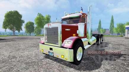 Kenworth W900B v1.1 pour Farming Simulator 2015