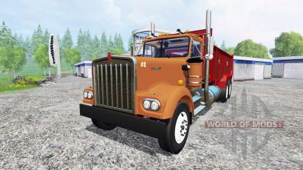 Kenworth W900 pour Farming Simulator 2015