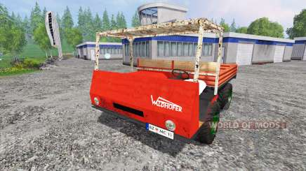 Waldhofer D22 pour Farming Simulator 2015