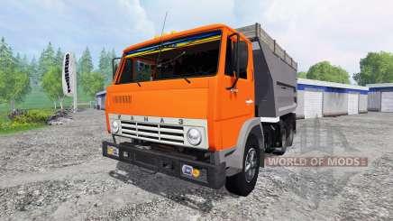 KamAZ-55111 pour Farming Simulator 2015