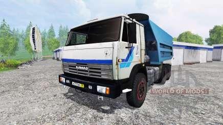 KamAZ-55111 v2.0 pour Farming Simulator 2015