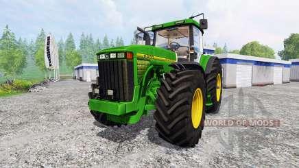 John Deere 8400 v4.0 pour Farming Simulator 2015