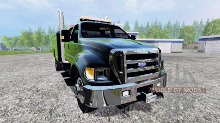 Ford F-650 [pack] pour Farming Simulator 2015
