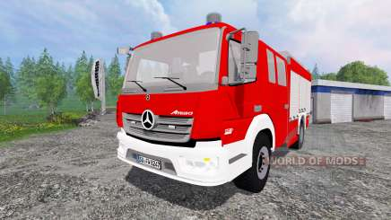Mercedes-Benz Atego 1530 [firefighters] pour Farming Simulator 2015