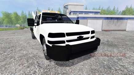 Chevrolet Silverado Flatbed für Farming Simulator 2015