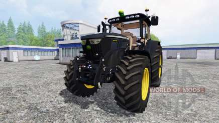 John Deere 6210R [black edition] pour Farming Simulator 2015