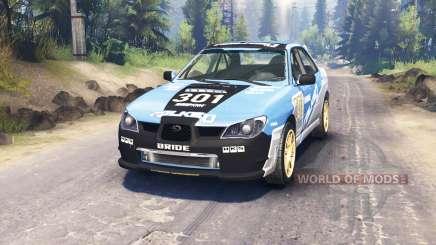Subaru Impreza WRX 2007 für Spin Tires