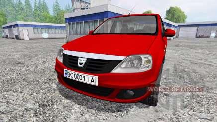 Dacia Logan v1.2 für Farming Simulator 2015