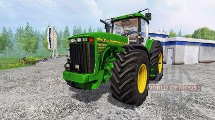 John Deere 8400 [wheelshader] pour Farming Simulator 2015
