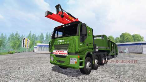 Iveco Stralis [wood chippers] v1.1 pour Farming Simulator 2015