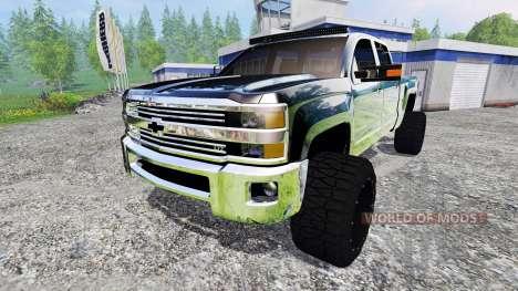 Chevrolet Silverado 2500 (GMTK2H) v3.0 pour Farming Simulator 2015