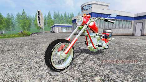 Harley-Davidson v4.0 für Farming Simulator 2015